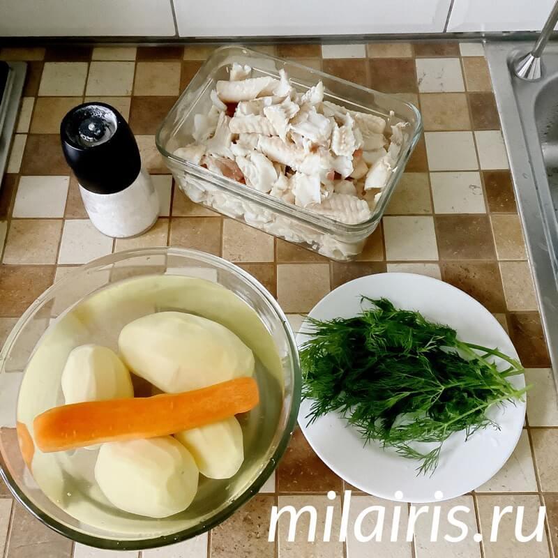 Рыбный суп рецепт с фото пошагово